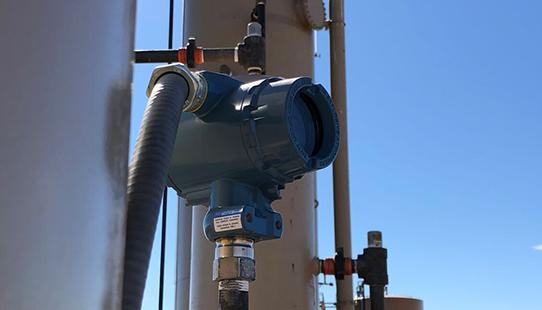 Oilfield Automation Sensor Gas Seperator Oklahoma Plow Technologies