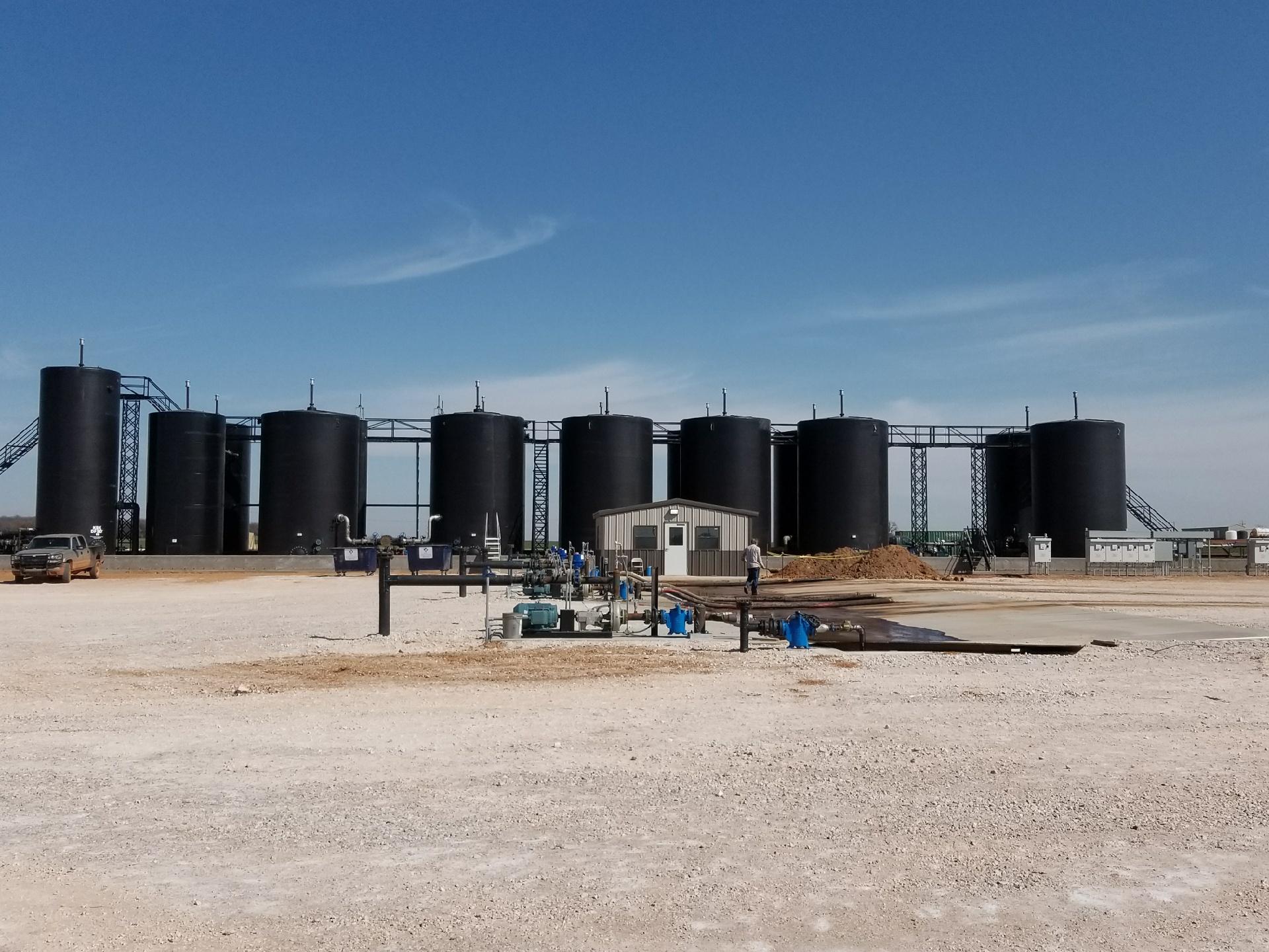 Salt Water Disposal SWD Automation - Plow Technologies