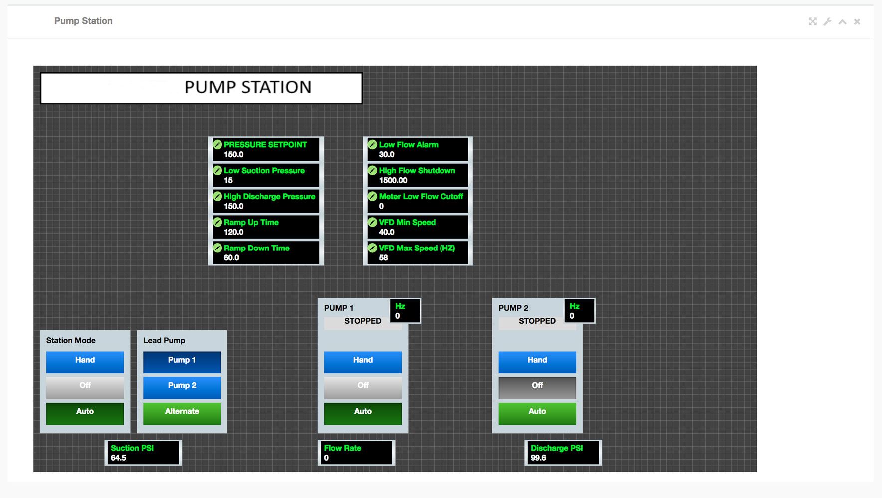 OnPing Water Treatment Automation Screen Shot